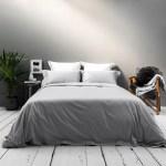 Luxury Bed Linen Silver Bedding Set Beaumont Brown