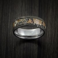 King's Camo Mountain Shadow and Damascus Steel Ring Acid ...