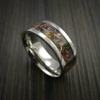 Kings Camo WOODLAND SHADOW Titanium Ring