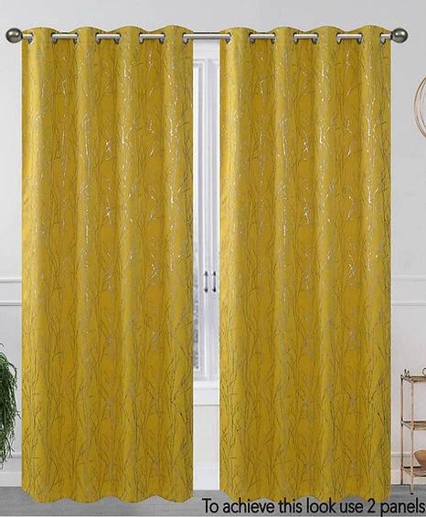 elaine 1 panel curtain set blackout solid 54 x 84