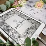 How To Draw Garden Flowers Ebook Digital Download Felicity Ink