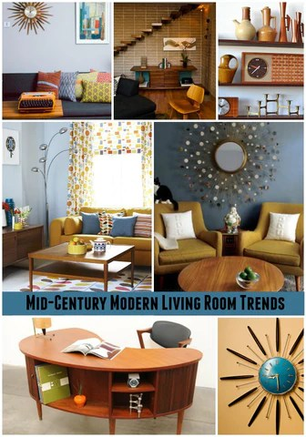 MidCentury Home Dcor Trends  Vintage Virtue