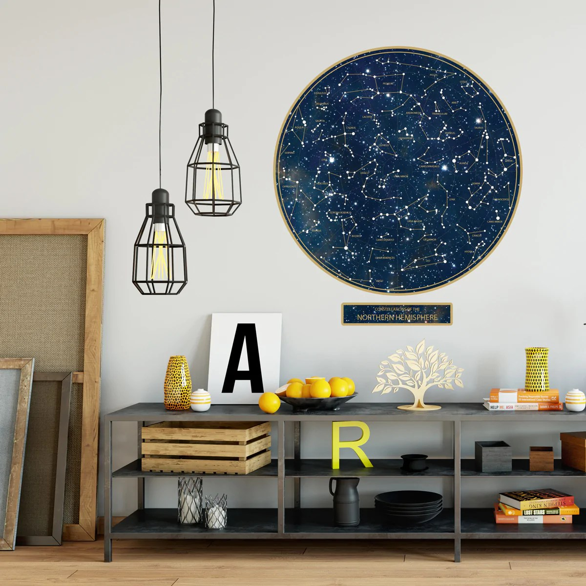 constellations wall decal northern