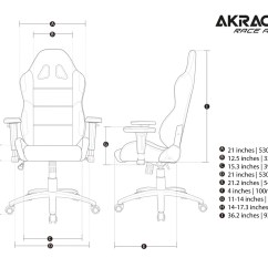 Chairs 4 Gaming Korda Fishing Chair Akracing K7 Blue  Chairs4gaming