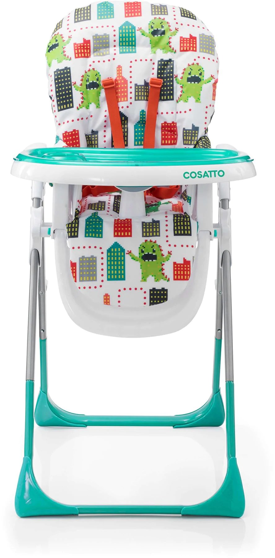 Baby Food Chair Cossatto Highchair Noodle Supa Monster Arcade Rocketbaby