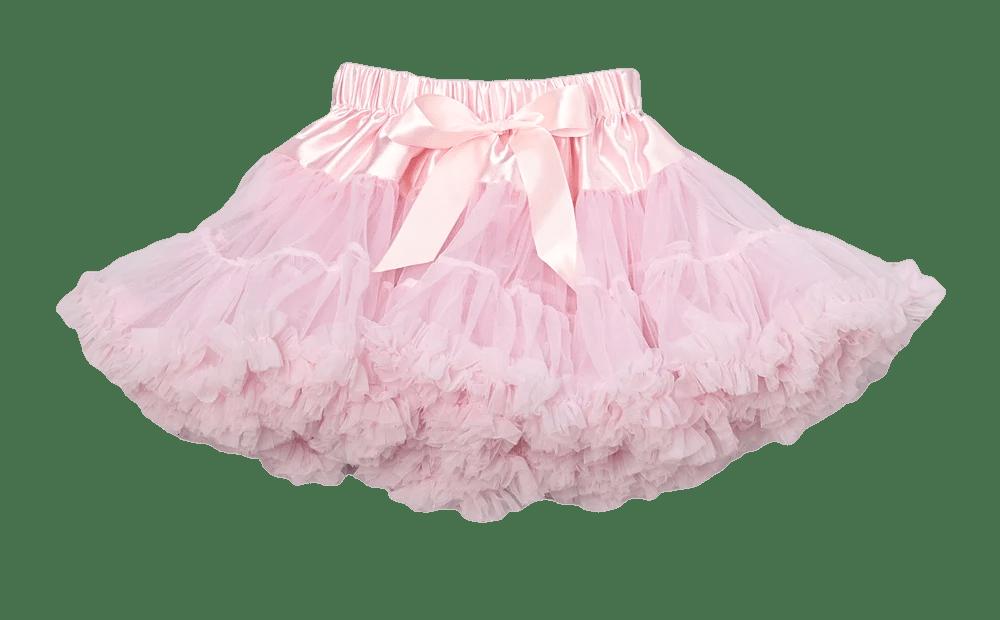 Pink Chiffon Pettiskirt Tutu  Royal Gem Clothing