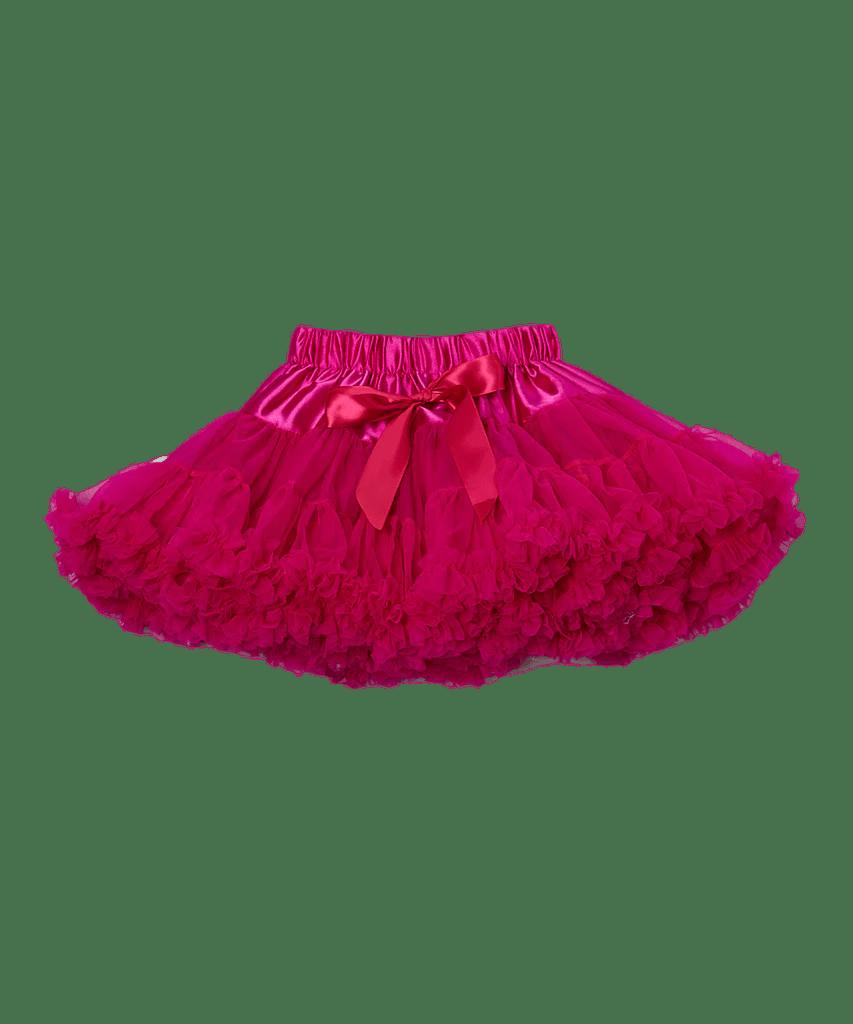 Hot Pink Chiffon Pettiskirt Tutu  Royal Gem Clothing