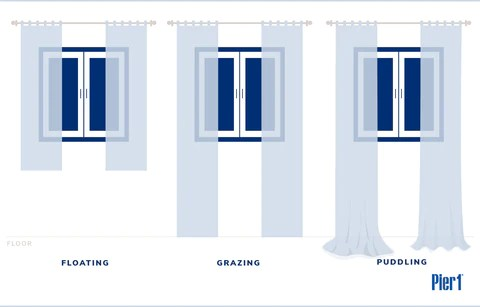 how to hang curtains easy step by step