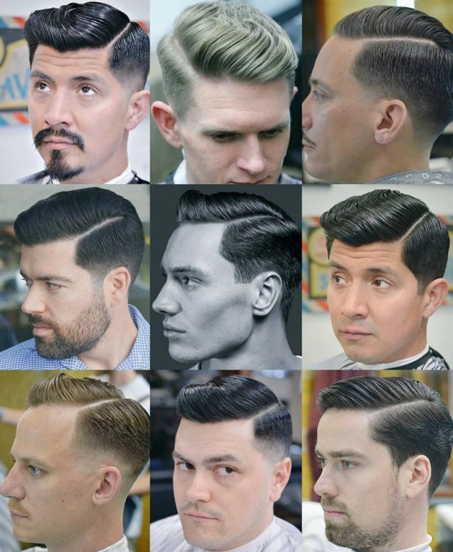 men's hairstyles with side partings | side parting haircut