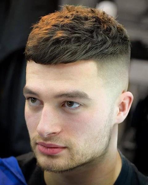 crop haircuts men show