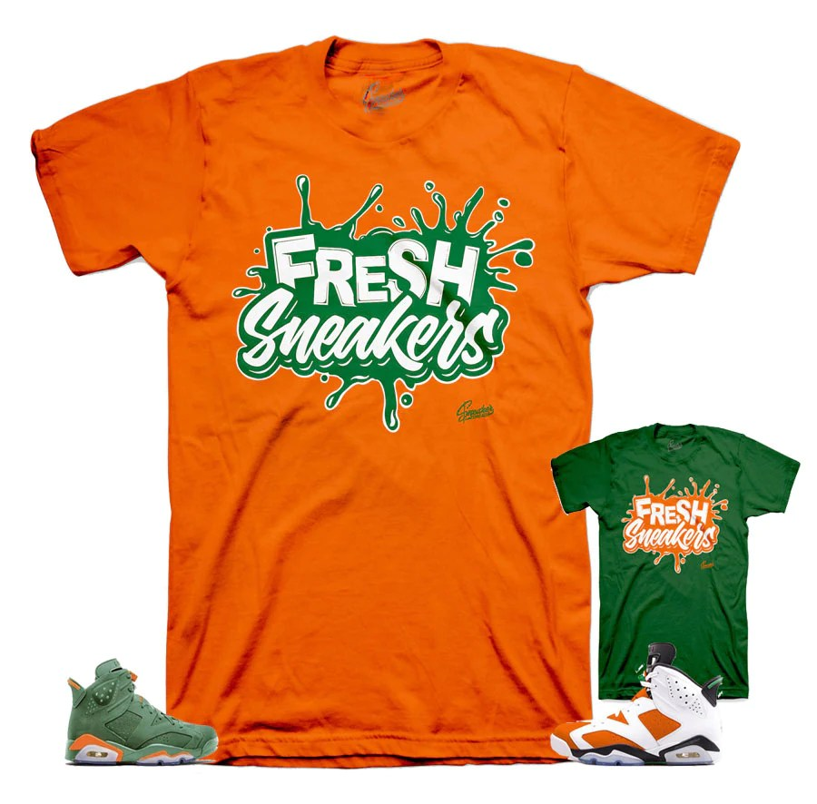 Jordan 6 Gatorade Shirts Inspired Retro Tee