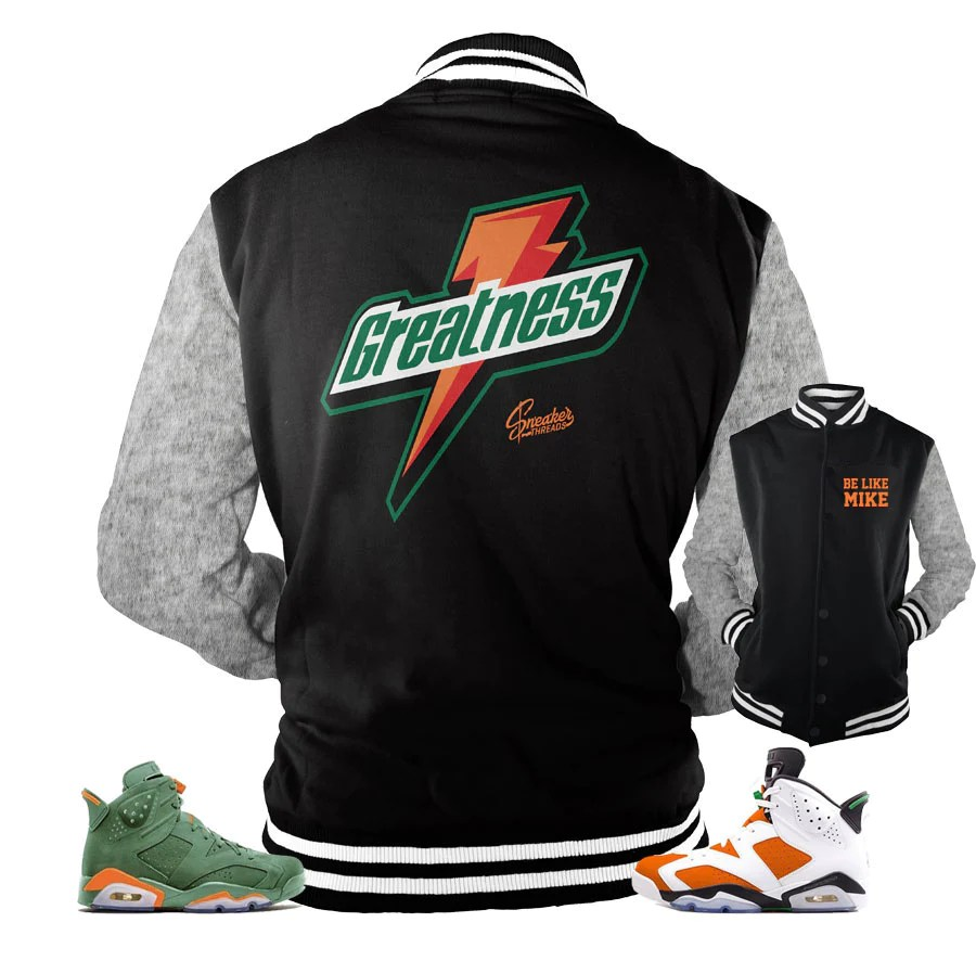 Jordan 6 Gatorade Jacket Match Retro Official