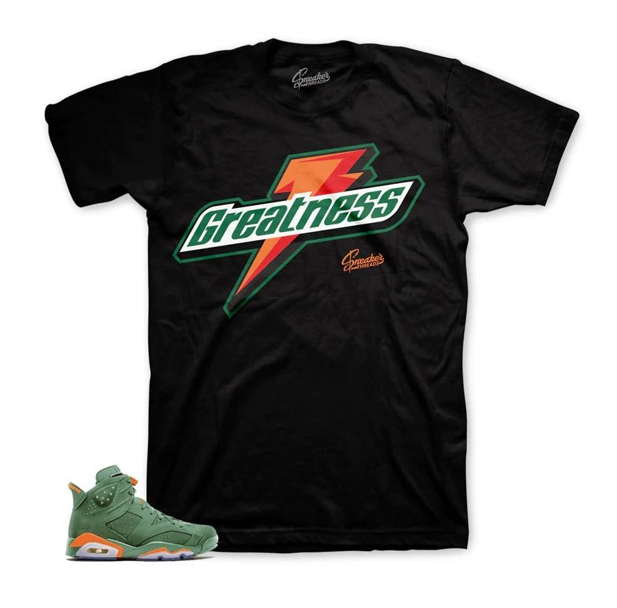 Jordan 6 Sneaker Tees Match Retro Black Cat Pinnacle Shirt