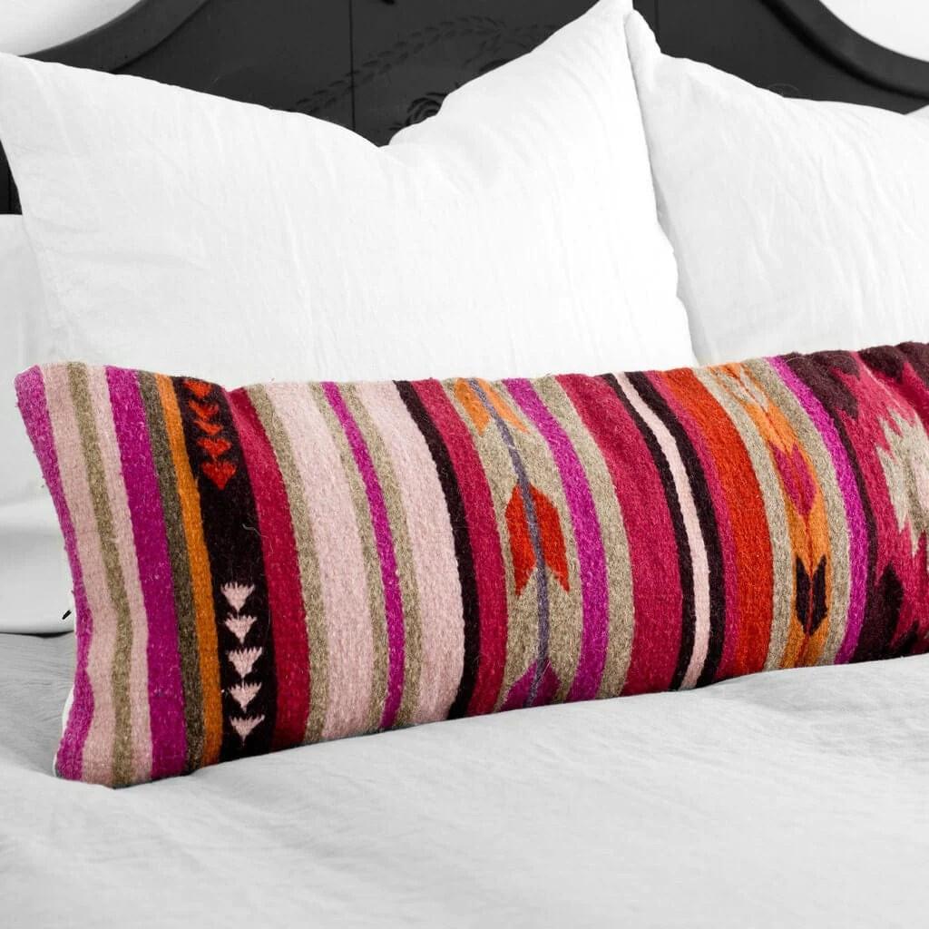 lumbar decorative pillow colorful