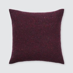 Wine Sofa Throws How To Fix Cat Scratches On Leather Burgundy Throw Pillows Tweed Hand Loomed In Ireland