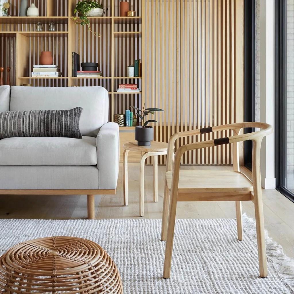 wood side tables living room white floor tiles for mid century light accent table the citizenry kulon mindi