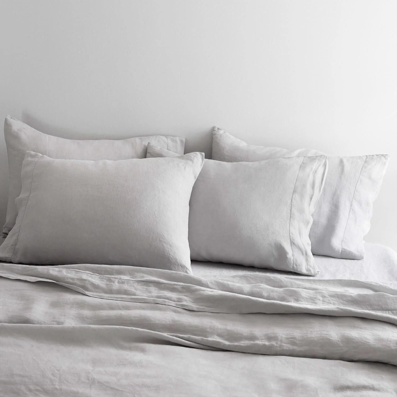 stonewashed linen bed bundle the