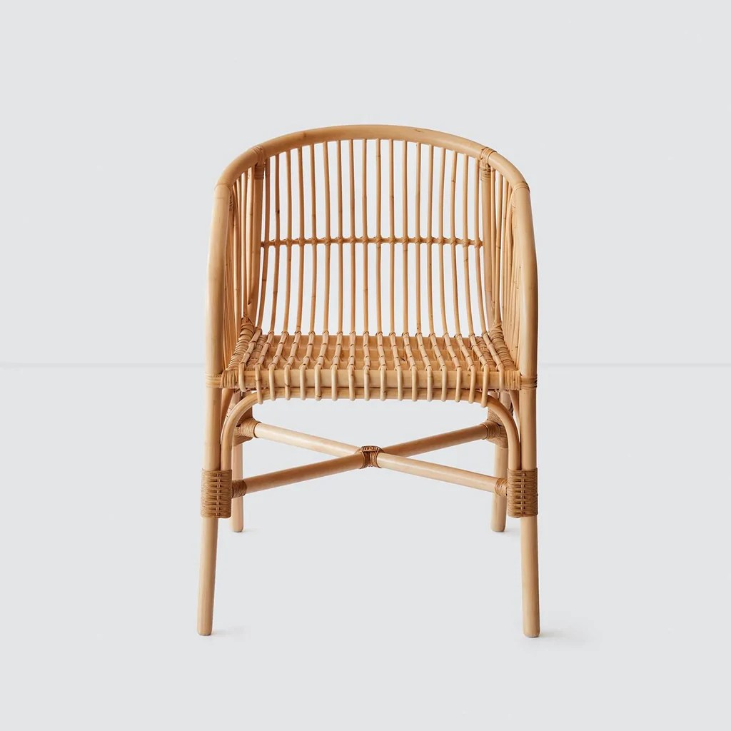 Woven Dining Chair Jakarta Rattan Dining Chair