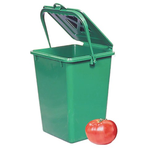kitchen compost container chrome faucets bin extended seasons indoor gardening