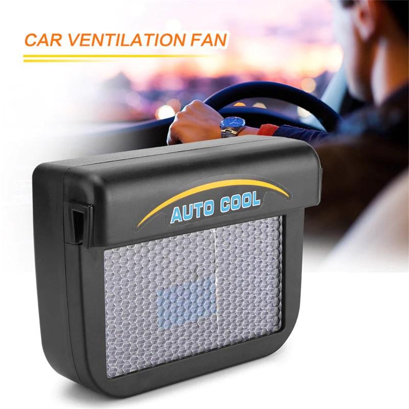 solar car ventilation fan dual vent car exhaust fan solar car cooler r 8032
