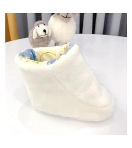 Baby Infant Newborn Fleece Ankle Booties