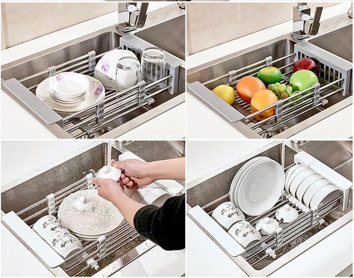 hot sale retractable sink rack 51 off