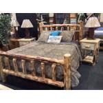 Montana Pioneer Rustic Log Bed Great Northern Logworks