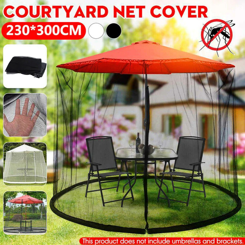 free shipping patio umbrella nets cover