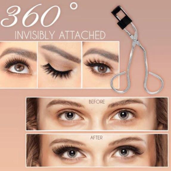 Lasher™ Magnetic Lashes Clip & Eyelashes Set