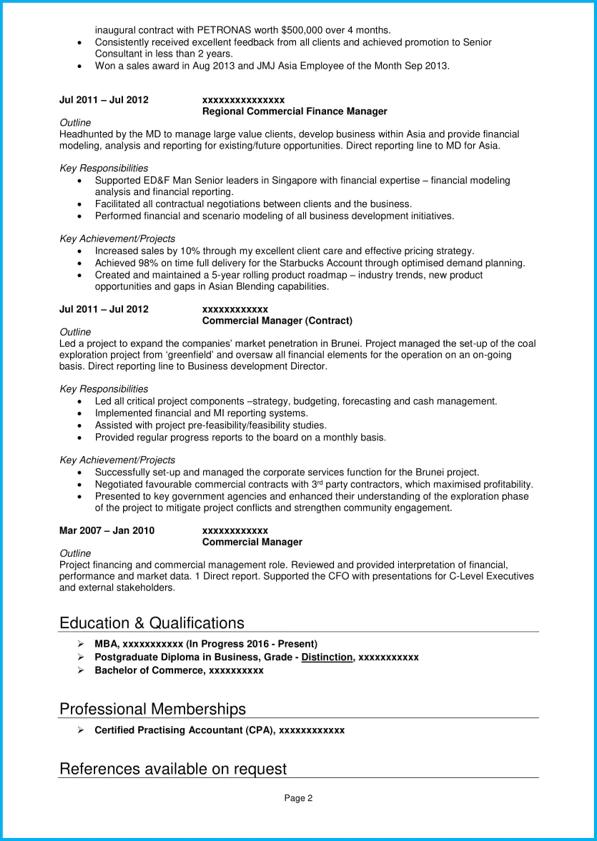 cv key skills section example
