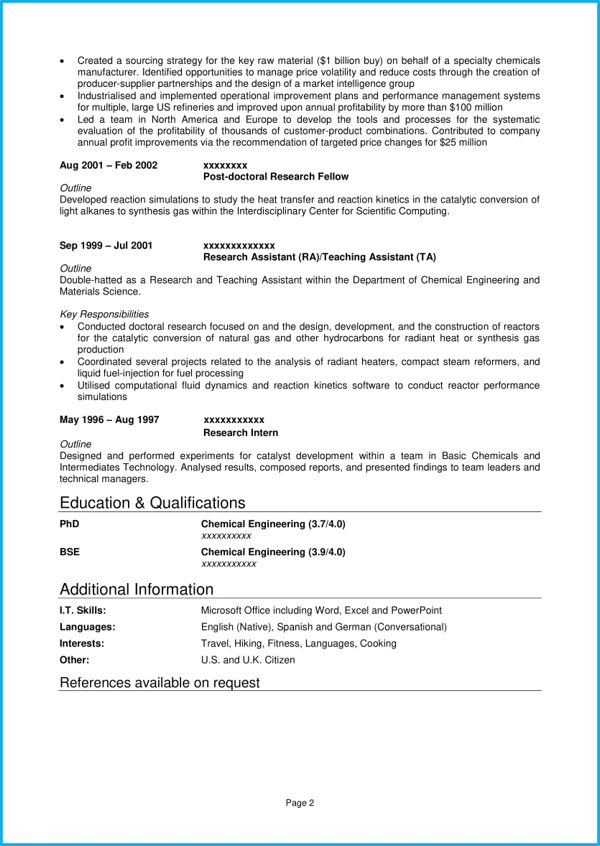 Professional CV template | With 7 example CVs for inspiration