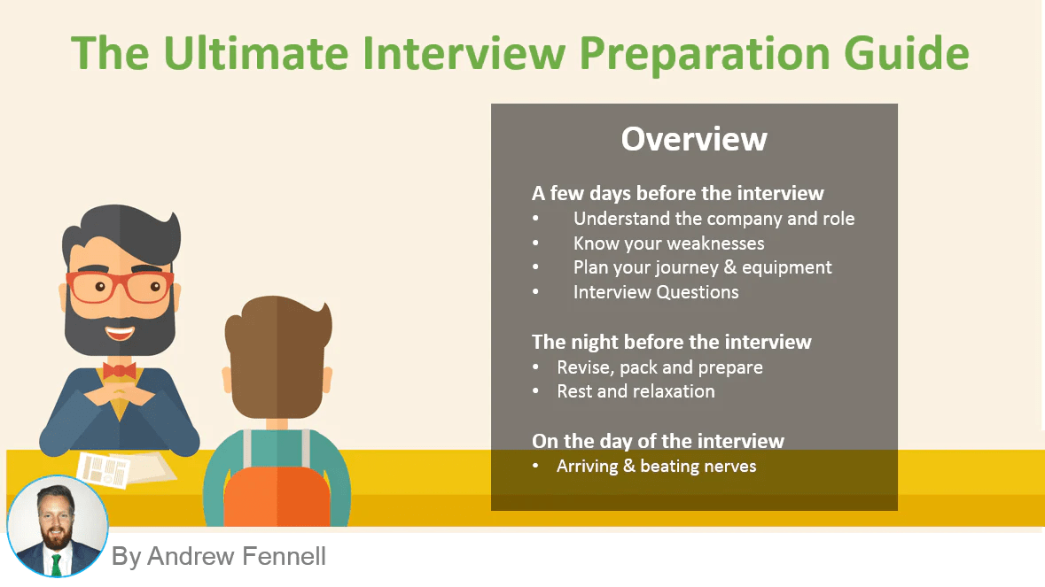 How To Prepare For A Job Interview The Ultimate Guide