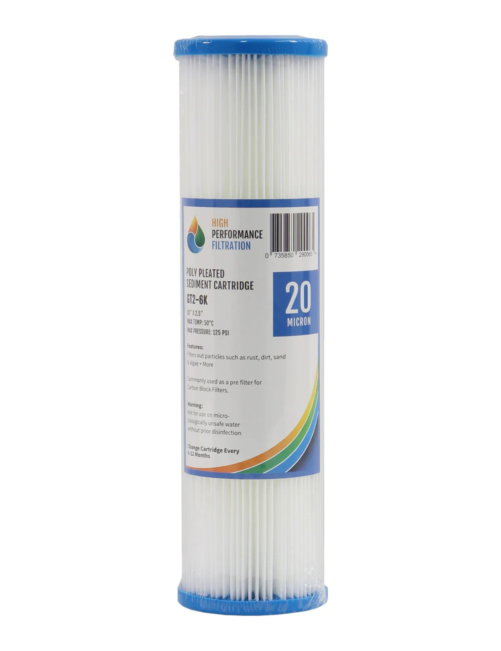 replacement cartridge pack for triple stage 10 under sink water filter system with ultraviolet light for untreated wate