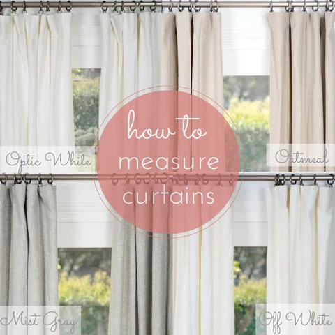 How To Measure For Curtains Amp Draperies Rod Pocket Pinch Pleat Roman Shades