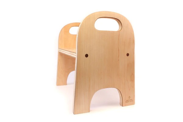 wooden step stool chair low back dining room chairs personalized smiling tree toys