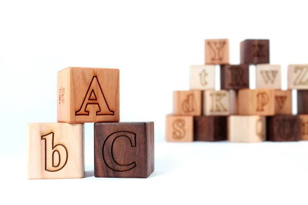 toy kitchen sets grill alphabet blocks - smiling tree