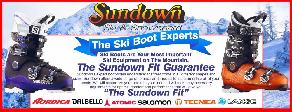 ski snowboard sundown ski patio