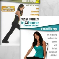 30 Minute Chair Workout For Seniors Vector Design Breath Of Life Yoga Pack Collage Video