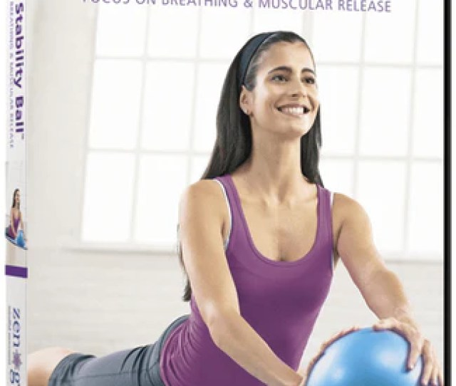 Stott Pilates Mini Stability Ball Focus On Breathing And Muscular Release