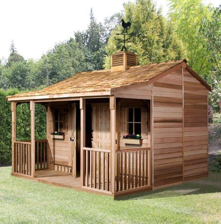 Ranchouse Sheds Prefab Guest Cottage Kits For Sale Cedarshed USA