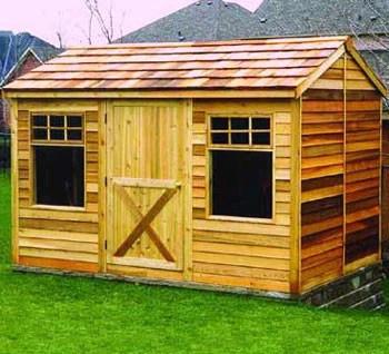 Small Cabin Kits, Cedar Cabins, Backyard Studio Sheds, DIY