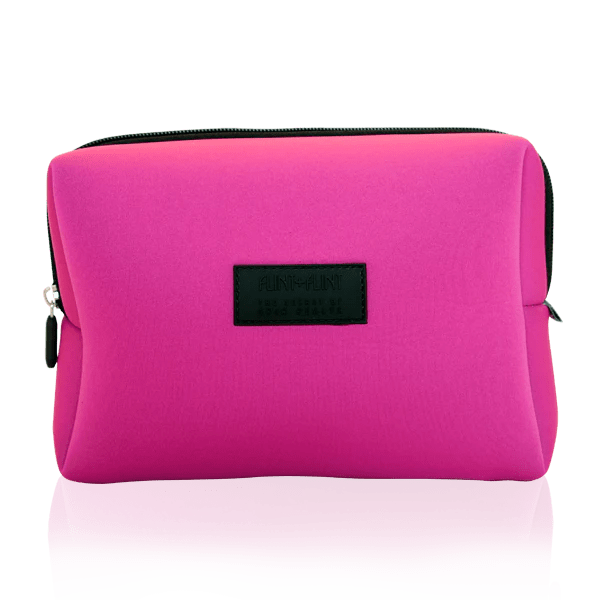 pretty pink wash bag