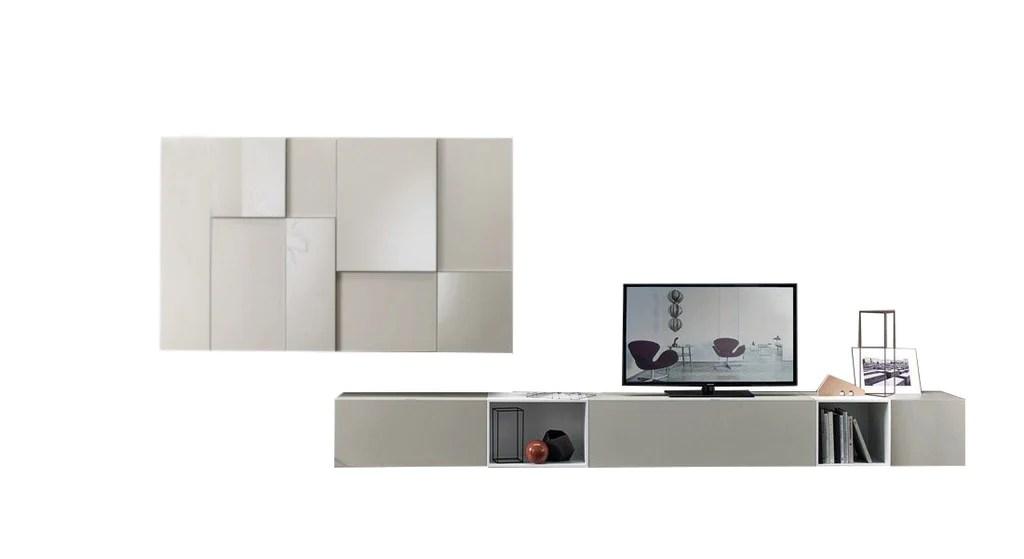 meuble tv design suspendu