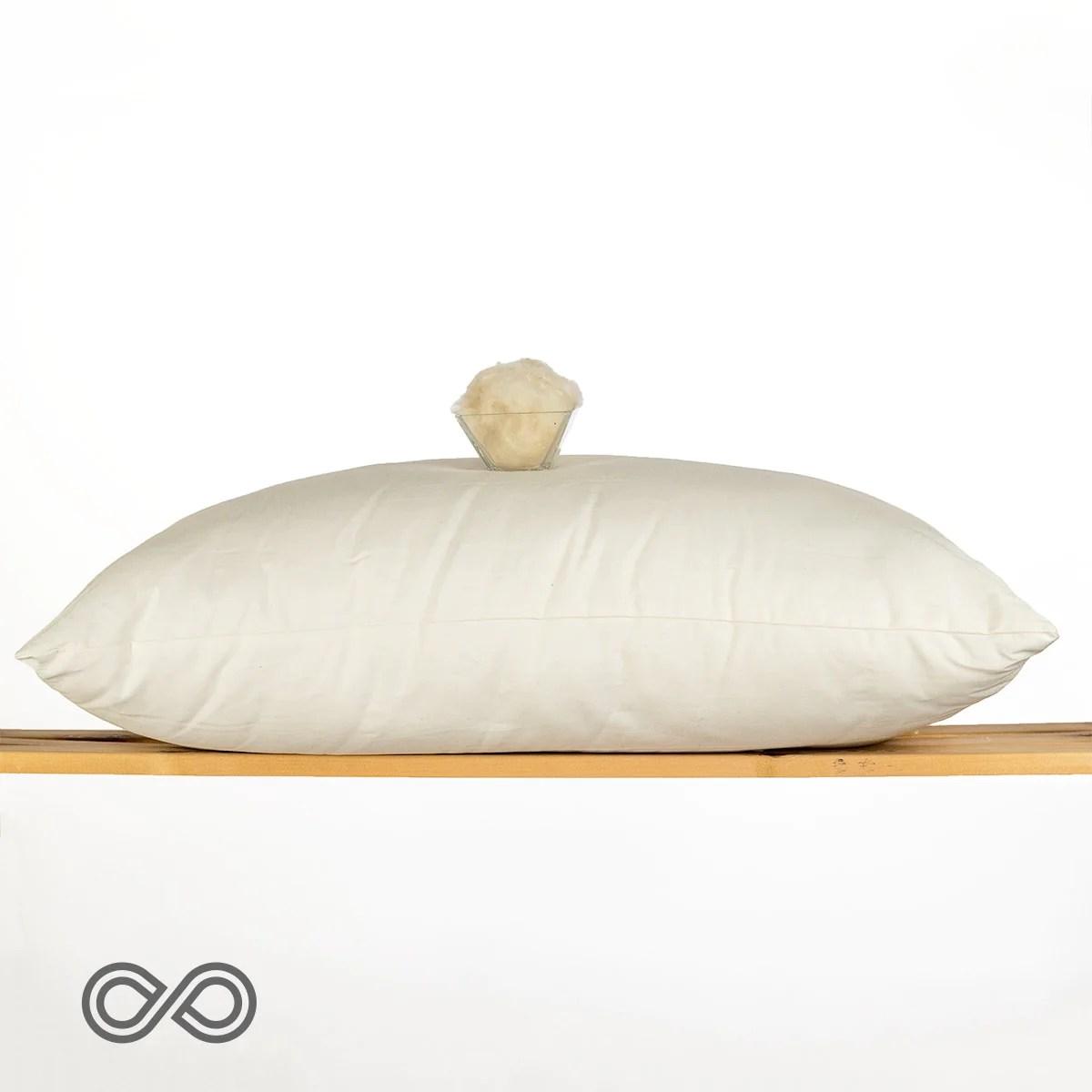 south carolina 100 organic cotton bed pillow made in usa