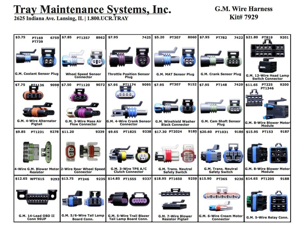 medium resolution of gm wire harness assortment
