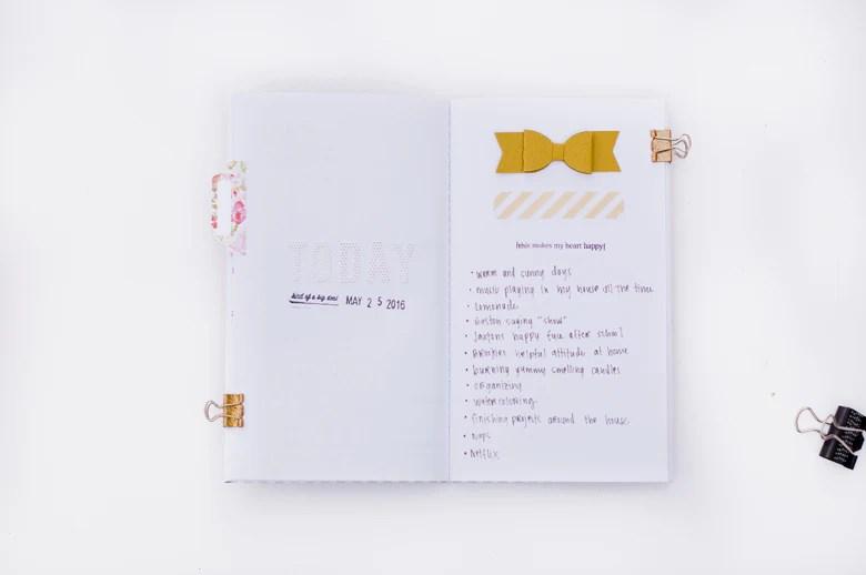 Alexes Marie Brown   @felicityjane   Travelers Notebook