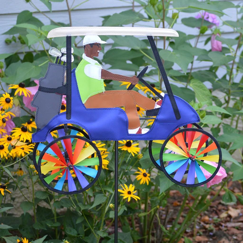 In. Golf Cart Spinner - Blue Premier Kites & Design