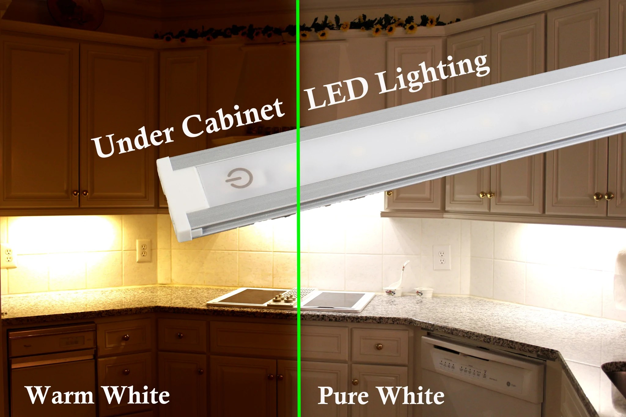 Under cabinet LED light U3014 Series with Touch ONOff Dim