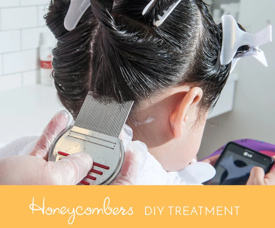 Colored Hair And Lice Treatment