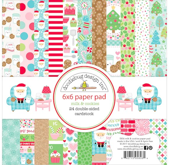 Christmas Craft Paper Pads